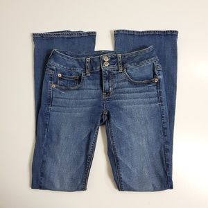 American Eagle Artist flare jeans size 2
